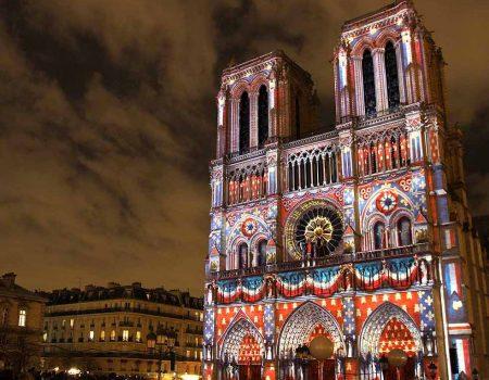 Vidéo mapping Paris