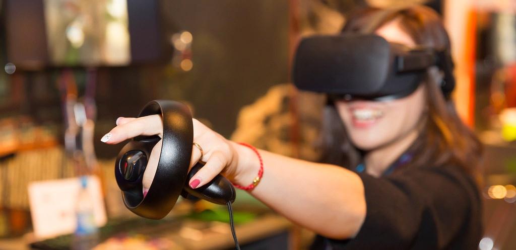 Oculus rift animation digitale