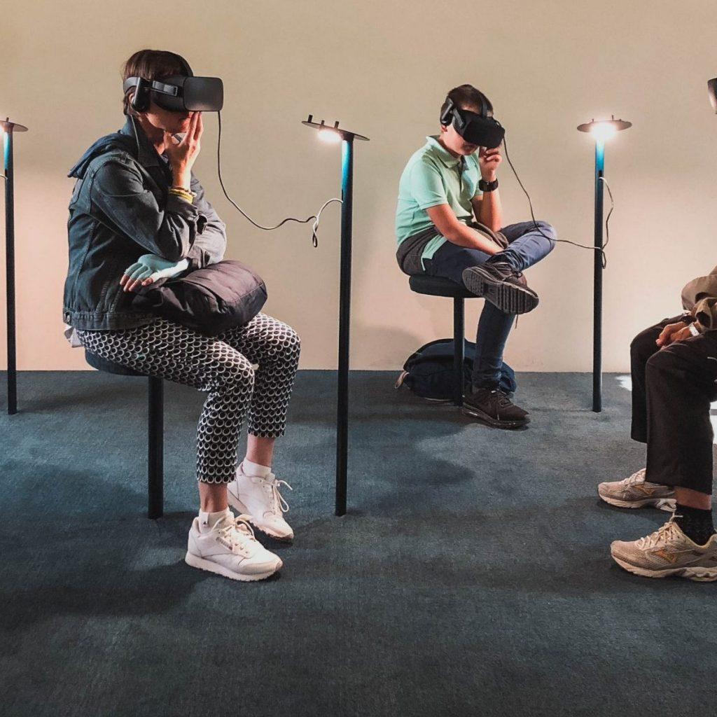 Réalité virtuelle événementielle