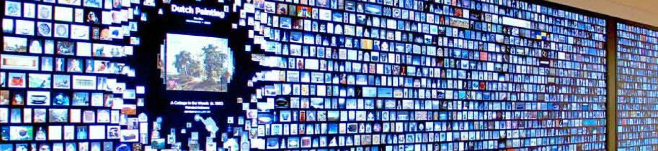 Animation digitale , Mur d'image, photowall