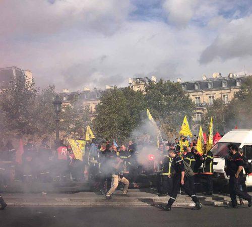 Gilet jaune Paris