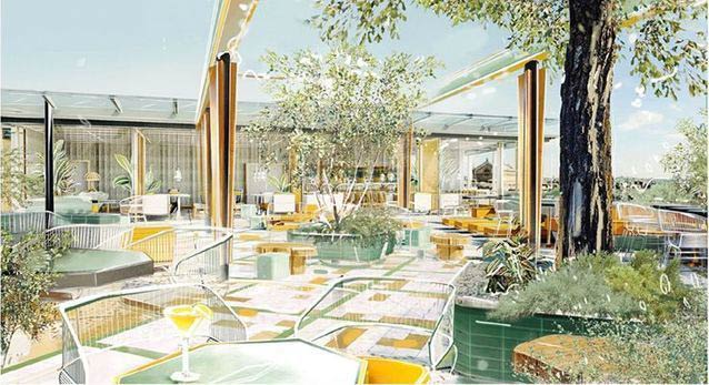 Restaurant sur rooftop paris 9