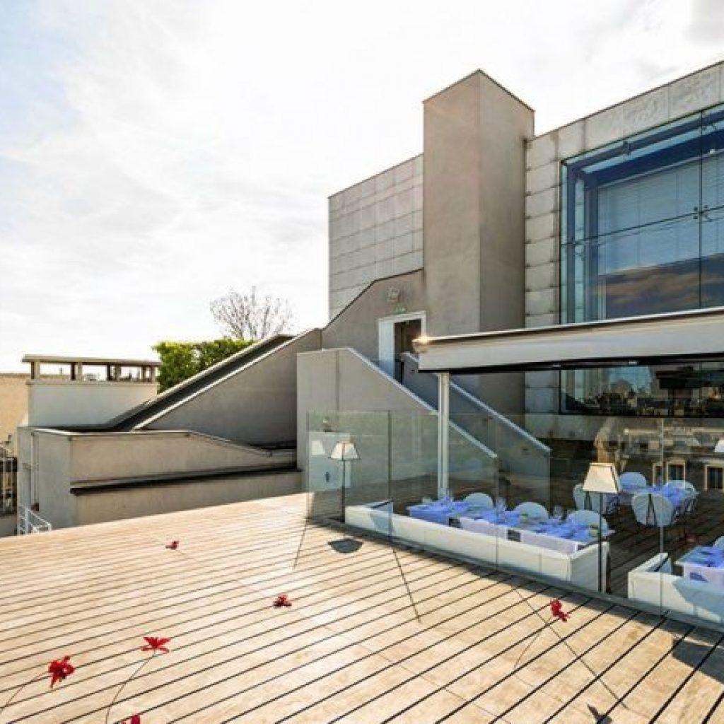 terrasse et rooftop à paris 8 pour soirée d'entreprise
