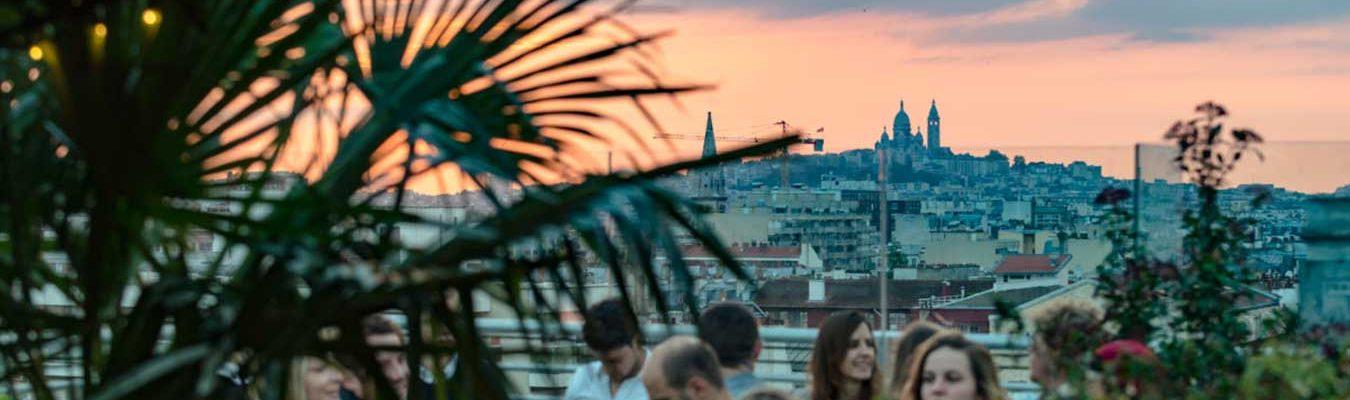 rooftop pour soirée d'entreprise