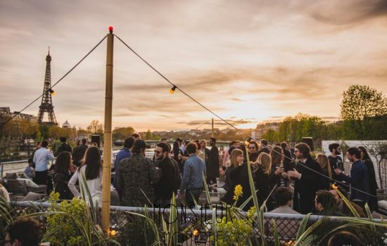 Un evenement sur un rooftop parisien insolite