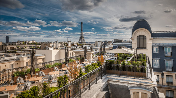 privatiser un rooftop à paris 16