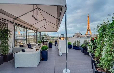 Rooftop exclusif pour un événement d'exception