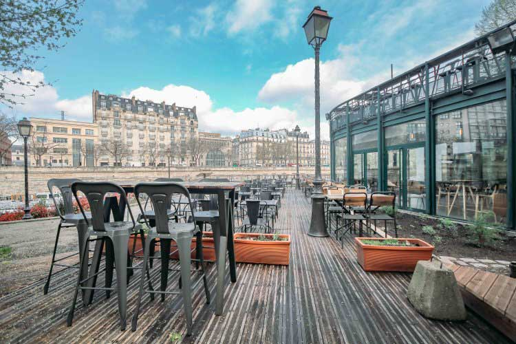 rooftop canal de l'arsenal paris 12 evenement