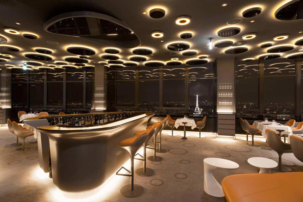 rooftop design a privatiser sur paris pour événement vue panoramique tour eiffel paris