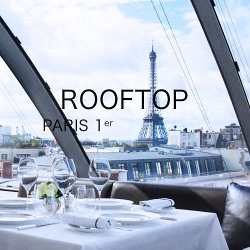 privatisation des plus beaux rooftop de paris pour événement d'entreprise