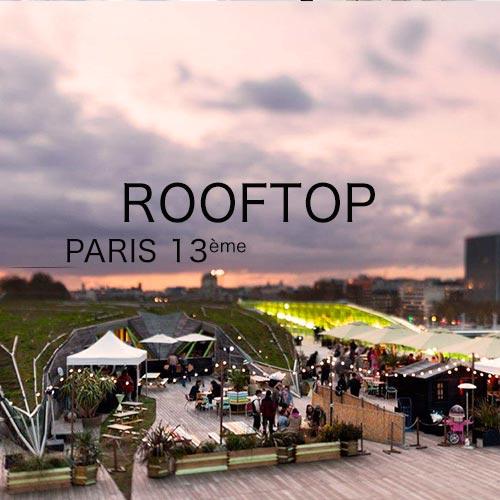 rooftop pour événement à paris 13