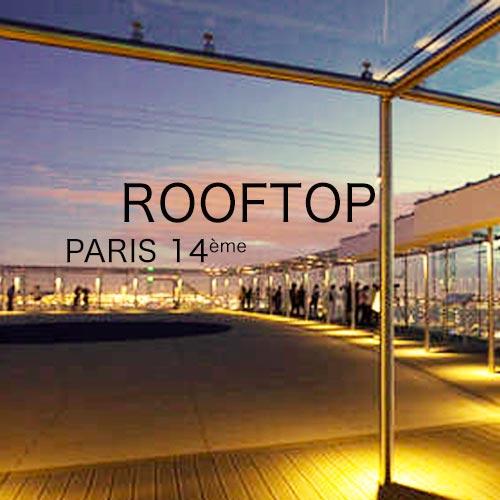 privatisation d'un rooftop pour soirée d'entreprise