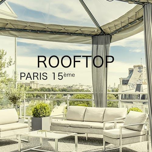 privatiser un rooftop pour événement d'entreprise