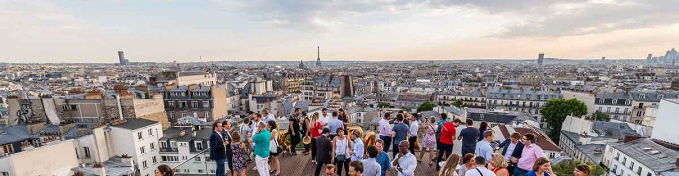 Rooftop evenementen paris
