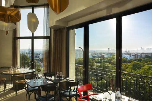 restaurant panoramique vue tour eiffel paris