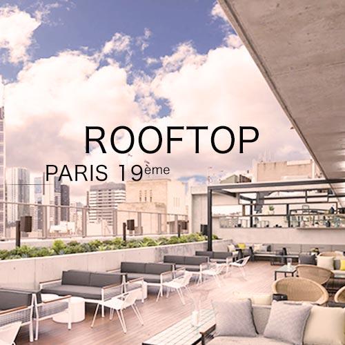 organisation d'une summer party sur les toits de paris