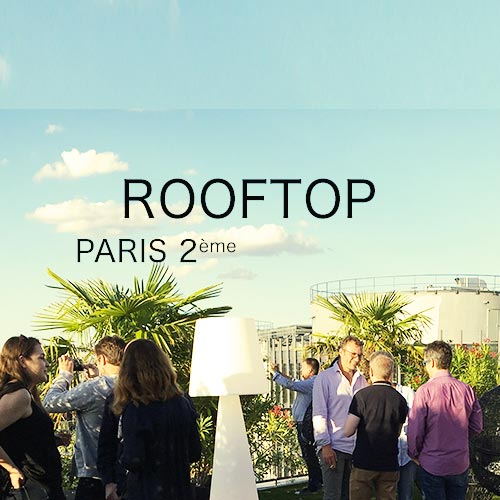 rooftop à privatiser à paris
