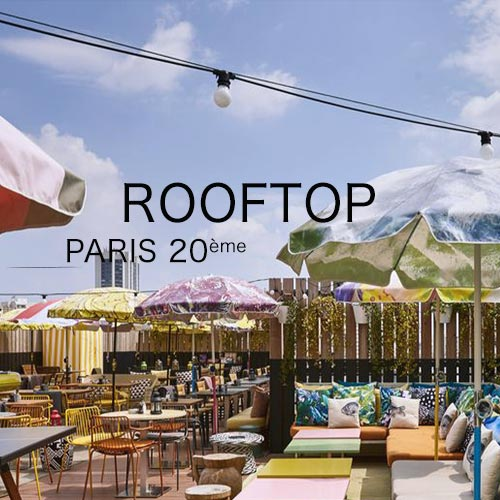 summer party sur un rooftop à paris