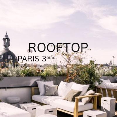 Rooftop pour événement Paris 3