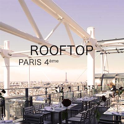 organiser un événement sur les toits de paris