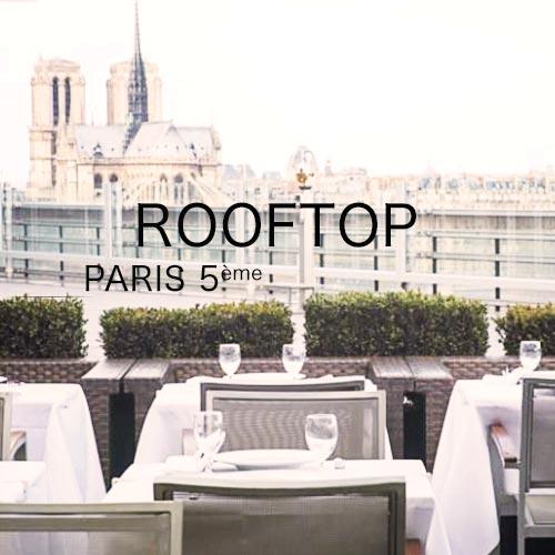 organiser un événement professionnel sur un rooftop