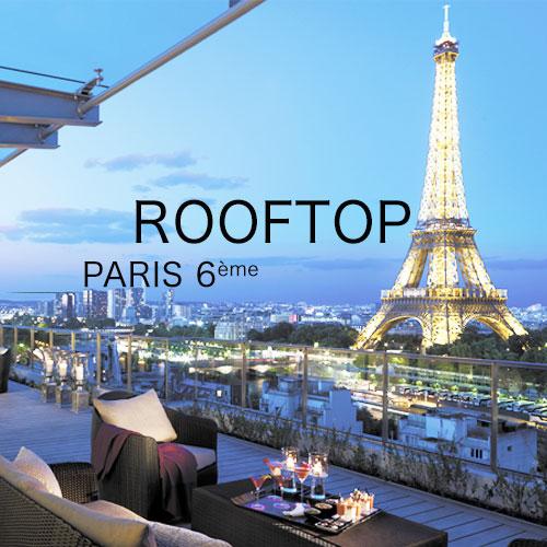 garden party entreprise sur les toits de paris