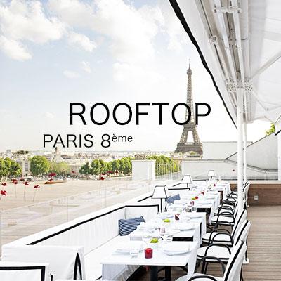rooftop pour événement paris 8