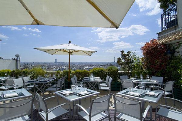terrasse rooftop pour evenement entreprise paris 18 vue paris