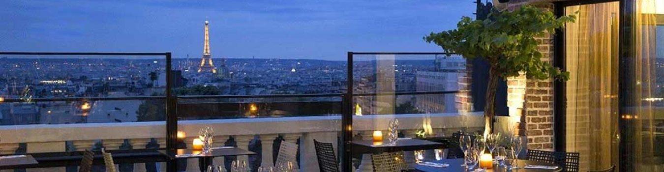 terrasse rooftop vue paris tour eiffel