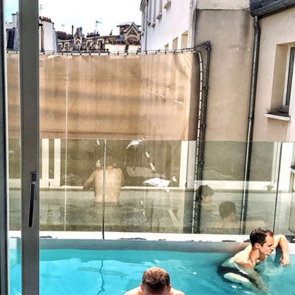 la suite piscine