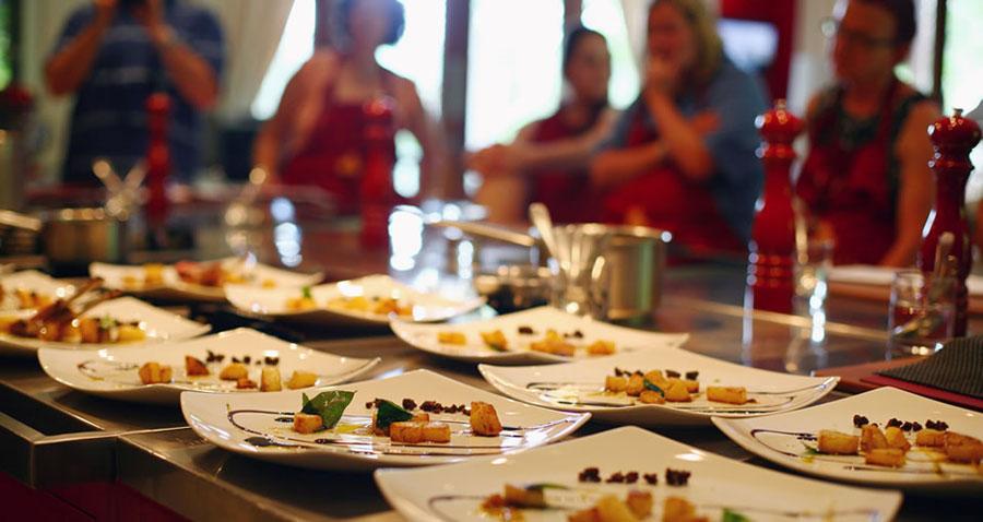 Cours de cuisine pour team building