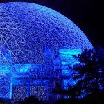Organiser un événement sous un dome géodésique
