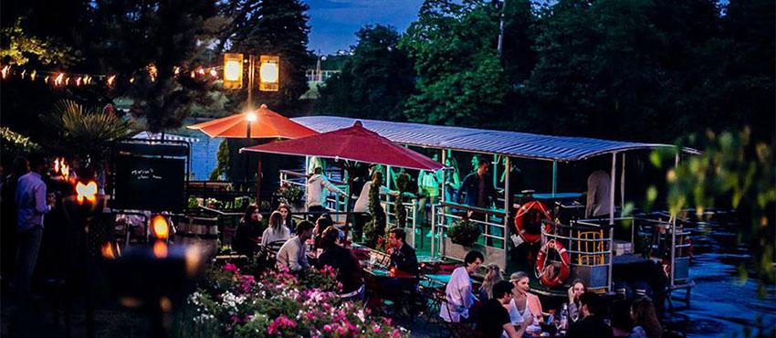 garden party entreprise chalet des iles