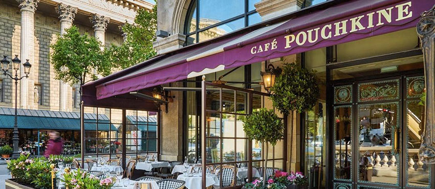 le cafe pouchkine madeleine a privatiser