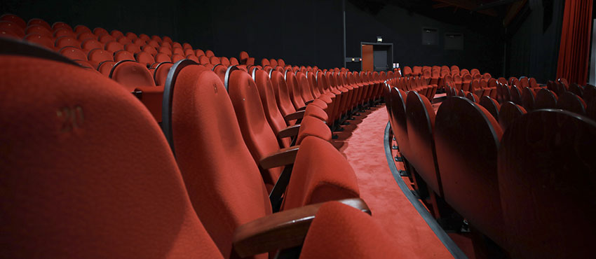 le théâtre rouge à privatiser pour vos conférences et séminaires