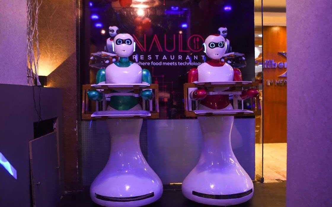 Les robots serveurs