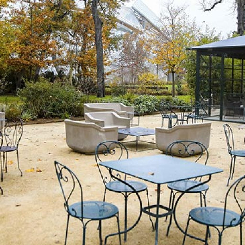 l'orangerie du jardin a privatiser